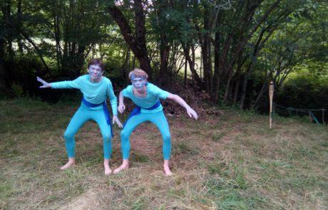 camp d'été 2018- theatre de la terre