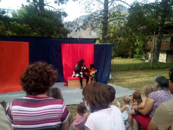 roulott'spectacles2021 theatre de la terre ariège